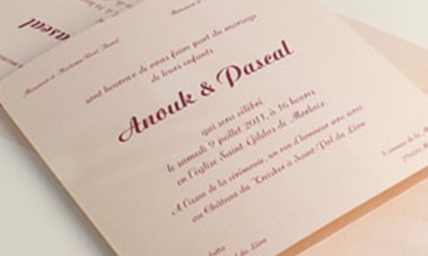 Invitations et Faire-part
